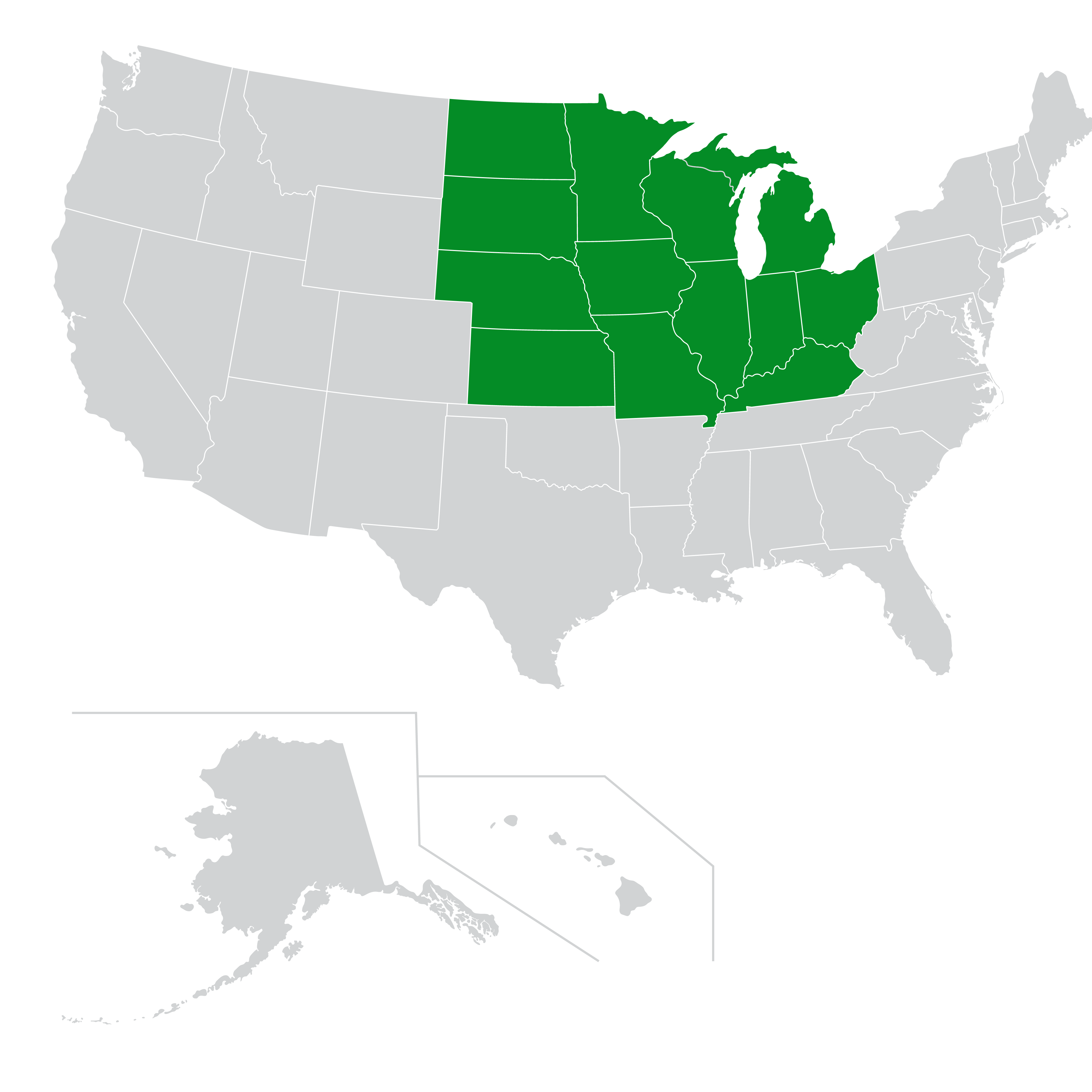 Midwest zone