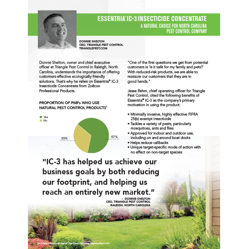 Essentria IC-3 Botanical Testimonial