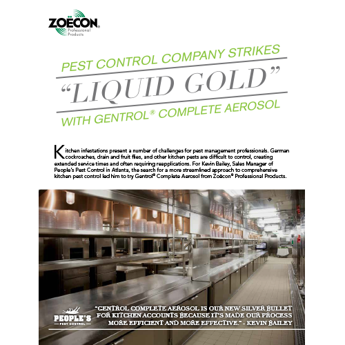 Gentrol Complete Aerosol Commercial Kitchen Testimonial