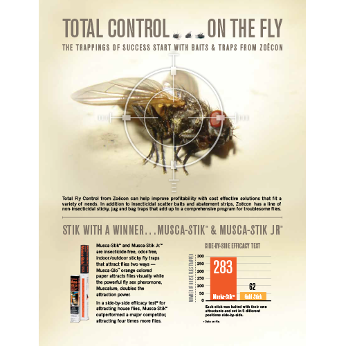 Zoecon Total Fly Control Fact Sheet